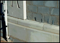 Cast Stone Installation